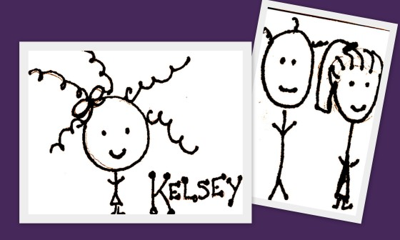 Kelsey and her family